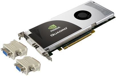 NVIDIA FX 3700 Graphics Card