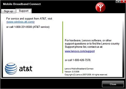 AT&T support contacts
