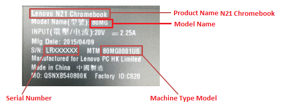 Find Product Name & Serial Number - Lenovo Support