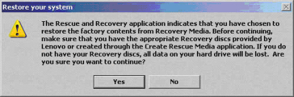 Pre-2008 Media Data Loss Warning Message
