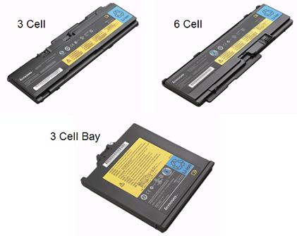 ThinkPad X300 Series Batteries