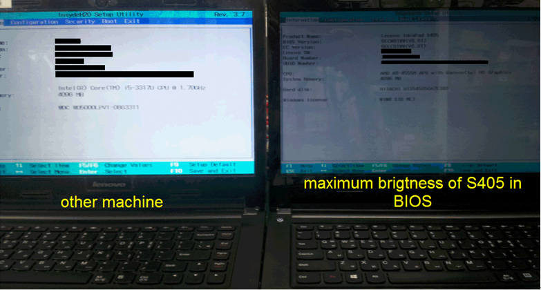 S405_LCD_displays_dim_once_installed_Windows_7_with_Windows_8_BIOS