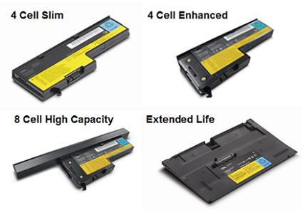 ThinkPad X60 Series Batteries