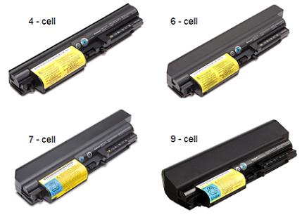 ThinkPad T, R 14-wide Batteries