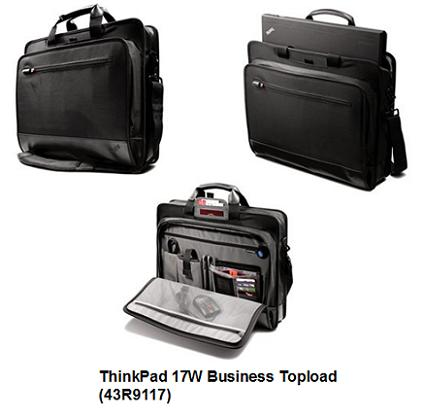 ThinkPad 17W Business Topload Case (43R9117)