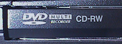 DVD Burner label