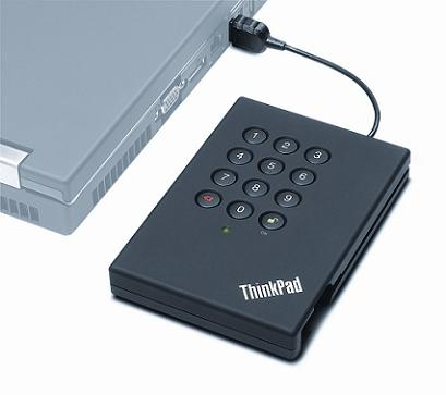 ThinkPad USB Portable Secure Hard Drive