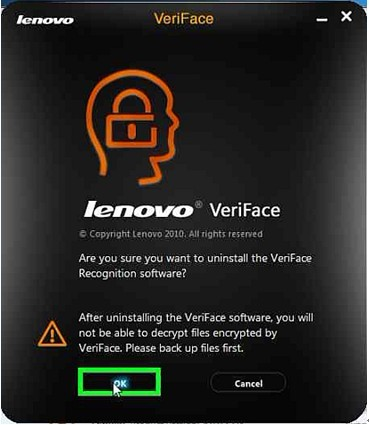 Uninstall-Veriface