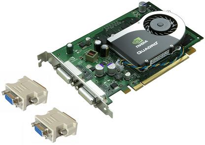 NVIDIA FX 570 Graphics Card