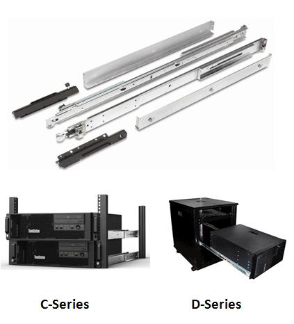ThinkStation C-Series, D-Series Rail Kit
