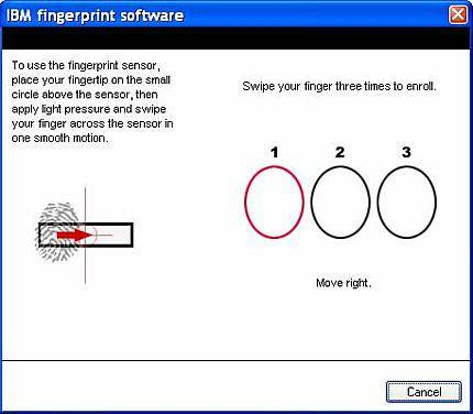 Fingerprint software