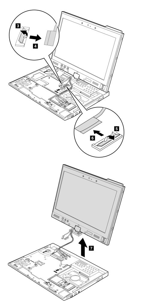Removal And Installation Steps Of Lcd Assembly