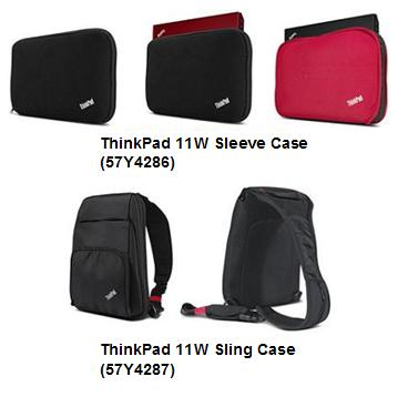 ThinkPad 11W Sleeve, Sling Cases