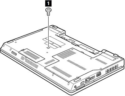 Removal steps of optical drive or travel cover