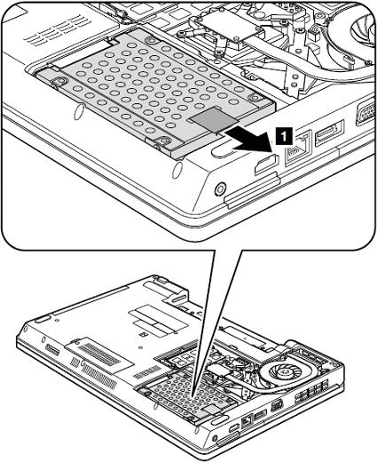 Removal steps of HDD assembly