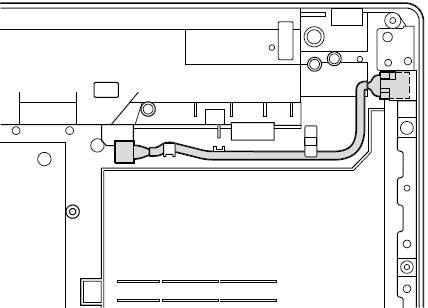 Cable routing for ThinkPad Edge 14