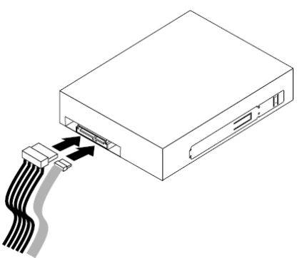 Connectiong the optical drive