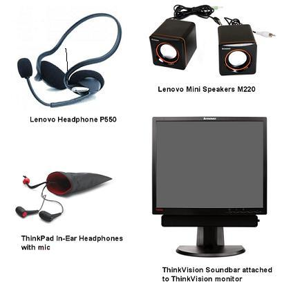 Lenovo Audio Accessories