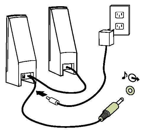 nice computer speaker wiring diagram ensign electrical diagram rh itseo info Bridging Speakers Diagram altec lansing computer speakers wiring diagram