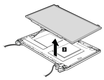 LCD panel and LCD cable removal and installation