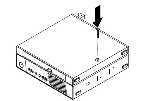 installing or replacing the external hard disk drive