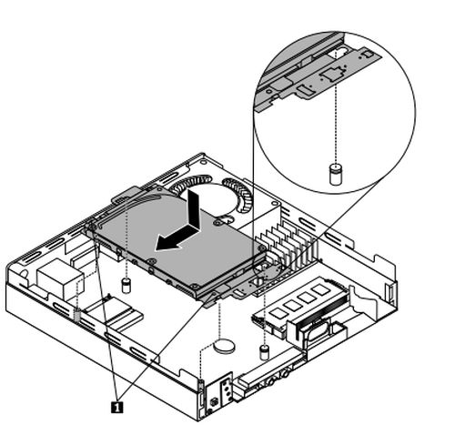 replacing the hard disk drive assembly