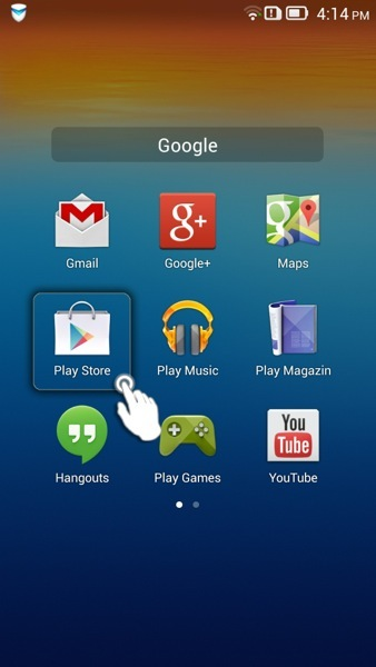 how to use us google play store