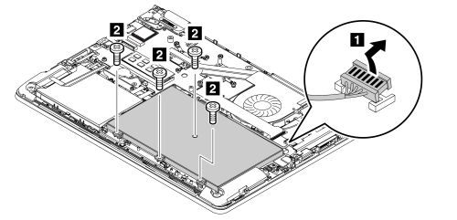 removal steps of the battery pack