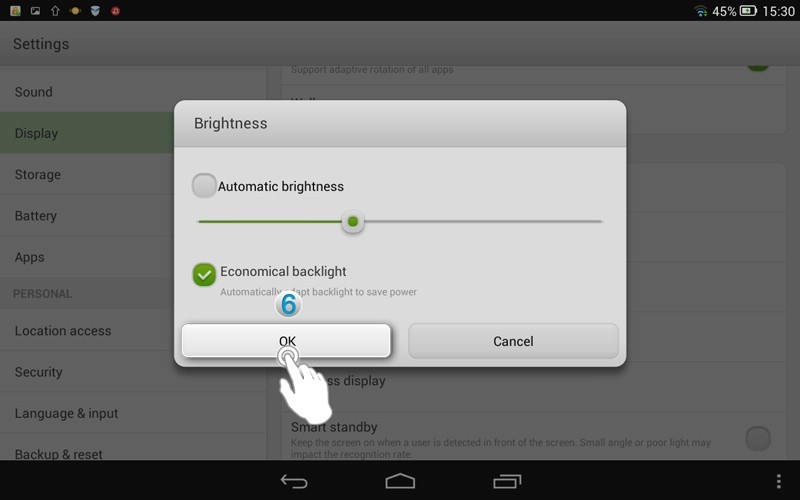 How To Adjust The Screen Brightness