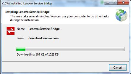 Lenovo Service Bridge