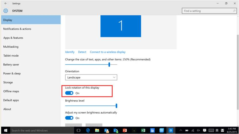 Settings to rotate the screen on Yoga Tab 2 Windows tablets - Lenovo Support