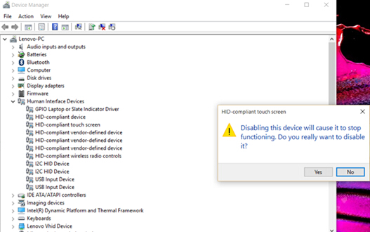 How To Enable Or Disable Touch Screen In Windows 8