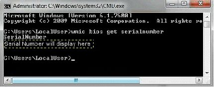 lenovo thinkcentre machine type and serial number are invalid