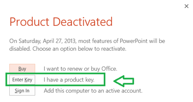 office 365 home premium enter product key