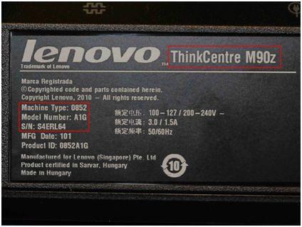 t40 lenovo specs serial number