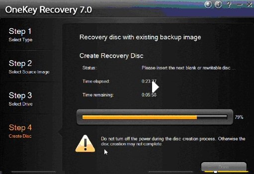 AOMEI OneKey Recovery Free Edition の評価・使い …
